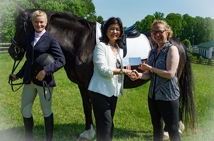 Little Treasury donation to Maryland Therapeutic Riding