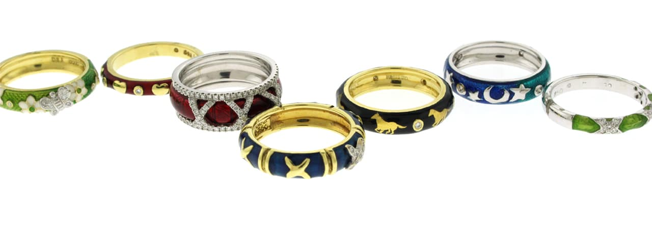 Sale Banner Rings