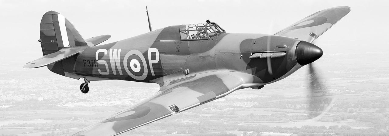 Hawker_Hurricane plane