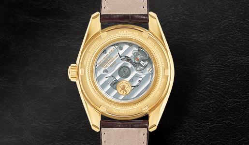Gold Back- Movement Grand Seiko