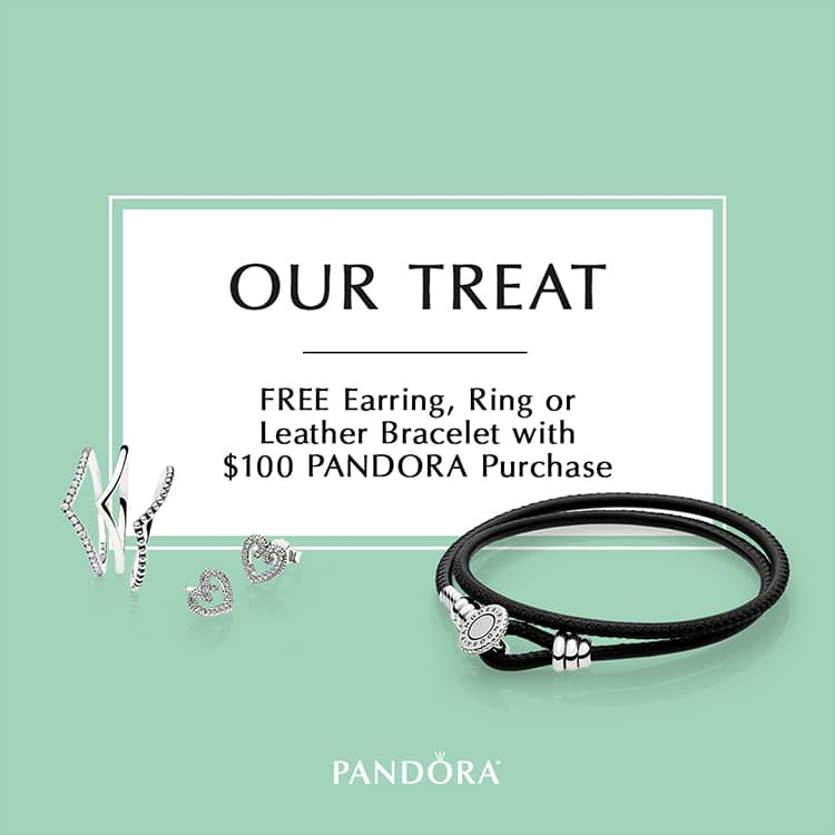 Upcoming Pandora Jewelry Promotions: Pandora Jewelry Free Bracelet Promotion 2018