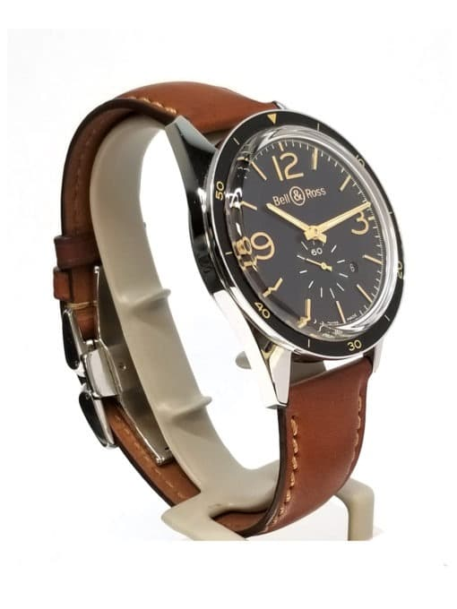 Bell and Ross 123 Golden Heritage side