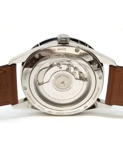 Bell and Ross 123 Golden Heritage Case Back