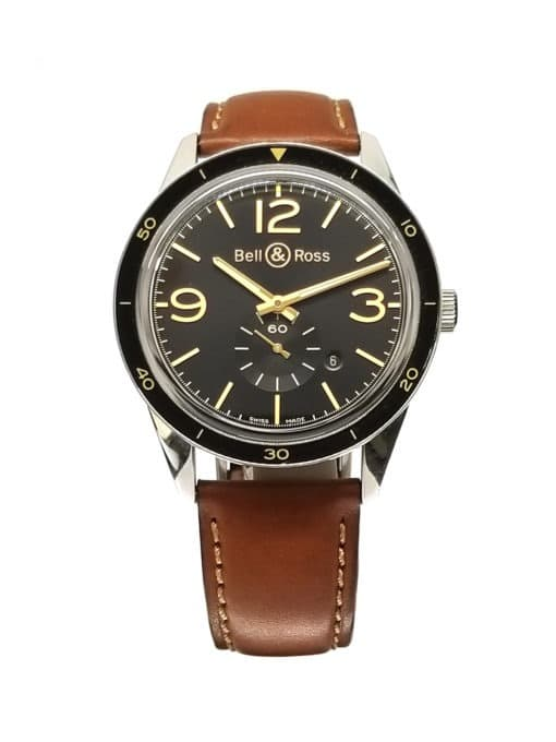 Bell and Ross 123 Golden Heritage front