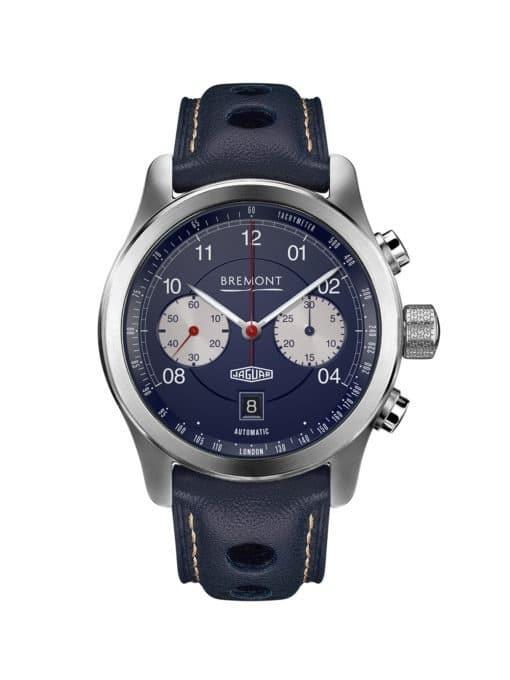 Bremont Jaguar D Type front of watch