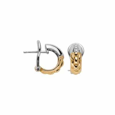 Fope 18KT/T Eka Anniversario Earrings, Dia 0.29ctw